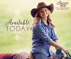 Longest Ride, The Blu-ray The Longest Ride Quotes, The Longest Ride Movie, Sparks Movies, Alan Alda, Britt Robertson, Riding Quotes, Scott Eastwood, Dear John, 2015 Movies