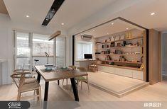 緯傑設計 王琮聖 北歐風 | 設計家 Searchome Study Room Design, Hotel Room Design, Home Office Design, Home Interior Design, House Design, Living Room Interior, Home Living Room, Interior Exterior, Interior Architecture