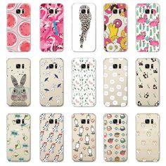 Cute Turtle Flamingo Zebra Dog Pattern Case For Samsung Galaxy S4 S5 Mini S6 S7 Edge A3 A5 J5 G530 Case