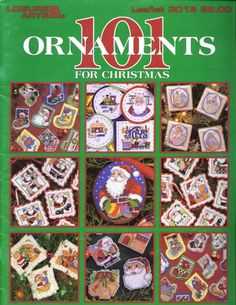 101 Ornaments for Christmas, Leisure Arts Cross Stitch Tree, Cross Stitch Books, Cross Stitch Needles, Cross Stitch Cards, Counted Cross Stitch Patterns, Cross Stitch Designs, Cross Stitching, Cross Stitch Embroidery, Cross Stitch Christmas Ornaments