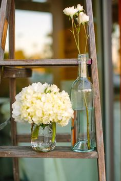 Rustic Romantic Wedding Floral details