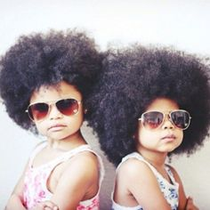 Natural hair mini divas!