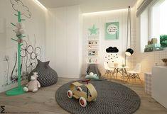Pokoje dla nastolatków, młodszych i najmłodszych | Elementy
