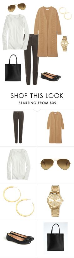 """""""Untitled #59"""" by salemery on Polyvore featuring Etro, CO, J.Crew, Ray-Ban, Vita Fede, MICHAEL Michael Kors and Banana Republic"""