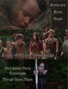 Harry Potter, Percy Jackson, and Katniss Everdeen