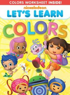"DVD Review: ""Let's Learn: Colors"" (& Giveaway Ends 9/4)"