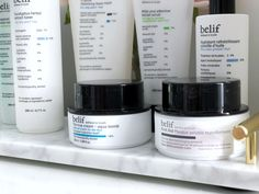 Daily Skincare Routine with Belif - The Little Loft Oil Control Moisturizer, Facial Cleansers, Natural Glow, Acne Prone Skin, Skin So Soft, Skincare Routine, Makeup Yourself, The Balm, Herbalism