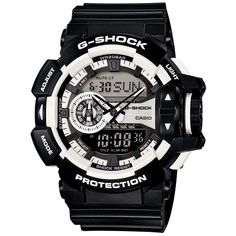 CASIO+G-Shock+GA-400-1A+Orologio+Uomo+Multi+Dimensional Burberry Men, Gucci Men, Cool Watches, Watches For Men, Men's Watches, G Shock Black, Omega Speedmaster, Casio G Shock, Calvin Klein Men