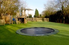 Gallery ‹ Sunken Trampolines The only trampoline I would ever agree to...
