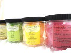 Sugar Scrub Cubes, great for summer skin!