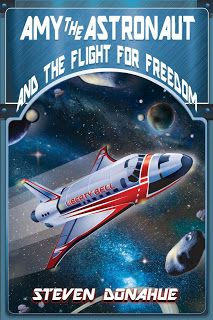Cover for Amy the Astronaut and the Flight for Freedom
