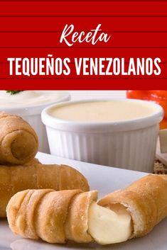 Venezuelan Food, Canapes, Relleno, Delicious Food, Hamburger, Appetizers, Bread, Cooking, Recipes
