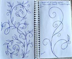 LuAnn Kessi: Sketch Book....Designs on a Spine