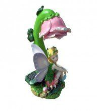 """Solar Angel Light Statue with Wings & Pink Rose White LED by SW Closeout. $30.00. Solar power: Crystalline solar cell. Photocell sensor turns on at dusk, off at dawn. Dimensions: approx 10"""" H x 5"""" L x 4"""" W. Material: ABS/PS, Poly resin. Battery: Rechargeable Ni-CD/MH battery. Light color: White. Light comes from rose. Operating time: Over 8hrs/night. Brightness: 13,000 - 15,000mcd. Light source: Super bright LED lamps.. Save 43% Off!"""