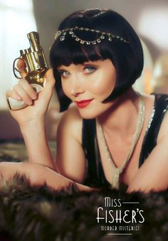 Miss Fisher's Murder Mysteries. Australian, but very Mrs. Bradley.