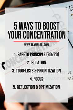 We are all familiar with the problem of lacking productivity and concentration. A lot of work and goals, intention to get it done, but at the end we get easily distracted and waste most of our precious time. Today we will show you 5 Ways to boost your productivity and get things done!