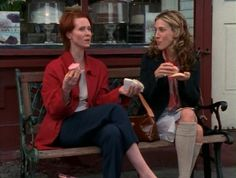 Carrie and Miranda Sex and the City Season 3 Episode 5
