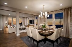 New Homes in Castle Rock, CO - Panorama at The Meadows Loveland Dining