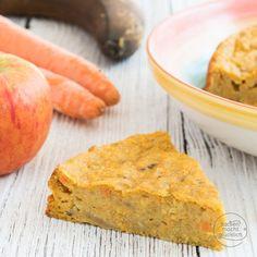 Apfel-Möhren-Kuchen ohne Zucker