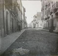 Calle de Torrijos Actual Calle César Elguezábal Año: 1919 - Archivo Ayuntamiento.Colección: FRANCISCO RAMOS MARTÍN