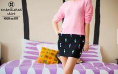 DIY Jewel Embellished Skirt | HIGH on DIY