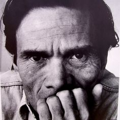 Pier Paolo Pasolini (March 5, 1922 – November 2, 1975) was an Italian film director, poet, writer, and intellectual. Pasolini distinguished himself as a poet, journalist, philosopher, linguist, novelist, playwright, filmmaker, newspaper and magazine columnist, actor, painter and political figure. He demonstrated a unique and extraordinary cultural versatility, becoming a highly controversial figure in the process.