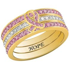 Hope Stackable Ring Set - The Danbury Mint