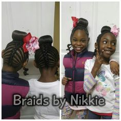 Children's braids Located in Cincinnati Ohio call 5136469355 for booking and pricing