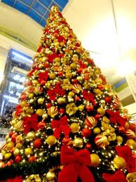 Resultado de imagem para decoração de natal EM VERMELHO E DOURADO