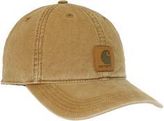 Carhartt Mens Odessa Cap,Brown,One Size