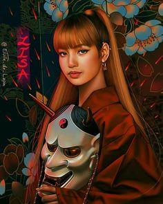 Black Pink Yes Please – BlackPink, the greatest Kpop girl group ever! I Love You Drawings, Cute Drawings, Jennie Blackpink, Blackpink Lisa, Fan Art, Lisa Blackpink Wallpaper, Korea Wallpaper, Blackpink Memes, Kpop Drawings