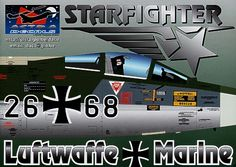 German Starfighters decals, the most researched decals ever. Containing over 1400 separate decals this set will allow you to make each and every German Starfighter in Separate, Decals, Aircraft, German, How To Make, Deutsch, Tags, Aviation, Pull Apart
