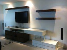 Mueble de TV a 2 colores en Encino