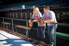 I'd like to take some engagement pics at the U of M baseball stadium :)