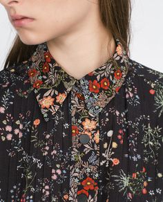 FLORAL PRINT SHIRT-MUST HAVES-WOMAN | ZARA United States