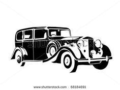 Antique Car ストックベクター画像、ベクター動画クリップ作品 | Shutterstock