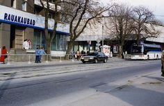 Arrival of the Hungarian president - police escort, Tallinn, Estonia  May 1996 by sludgegulper, via Flickr