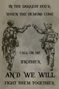 soldier Poster - call on me brother soldier Poster - call on me brother<br> Material : High Quality Canvas Ink : Waterproof Ink Technics : Spray Painting Indian Army Quotes, Military Quotes, Military Humor, Military Art, Army Tattoos, Military Tattoos, Warrior Tattoos, 3d Tattoos, Tattoo Ink