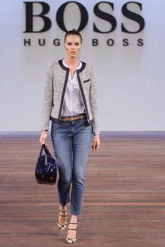 77fb42c782 Hugo Boss 2013 Womenswear casual dress down style