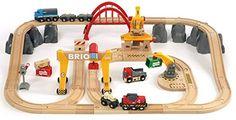 BRIO 33097 - Cicuito Deluxe tren juguete de mercancias, IndalChess.com Tienda de juguetes online y juegos de jardin