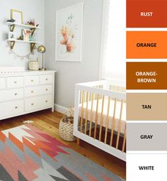 I+have+formulated+9+beautiful+and+colorful+gender-neutral+color+combinations+for+your+nursery.+If+you+are+designing+a+unisex+nursery+and+don't+want+it+to+be+boring+and+neutral+check+this+out.+If+you+don't+want+to+be+predictable+with+gender-specific+baby+pink+or+powder+blue,+then+this+is+for+you+too!