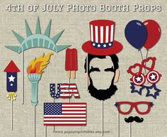 New birthday board classroom diy photo booths Ideas Birthday Board, Diy Birthday, Birthday Nails, 4th Of July Party, Fourth Of July, Abraham Lincoln Party, Diy Photo Booth Props, Photo Booths, Ideas Party