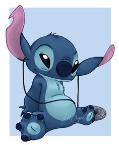 Stitch RAWKS by Kel-C-Lynn on deviantART