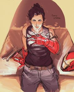 Tony Stark genderbent