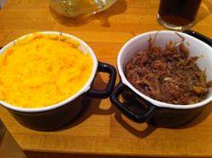 Parmentier Patate Douce/Canard  Merci Belle-Maman pour sa recette