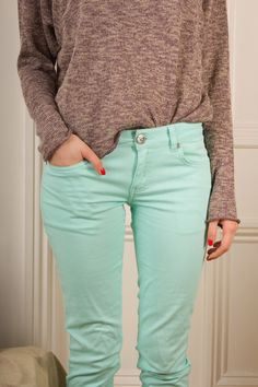 Mint jeans <3 Just bought some!