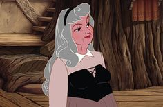 The Disney Princesses in their old age