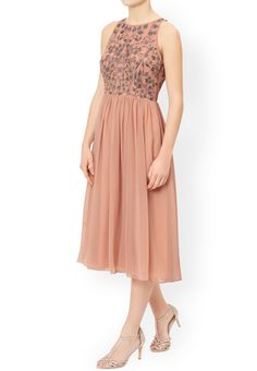 MONSOON Lily Midi Dress.  UK14 EUR42  MRRP: £129.00GBP - AVI Price: £65.00GBP