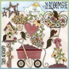 Love Blooms Here 1 - NE Trina Clark Clip Art