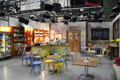Image result for cafe scene partial set